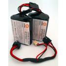 Batterie für Visonic Sirene 740