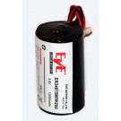Batterie für Visonic Sirene 710, 720, 730, 730-8AC